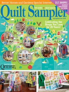 Quilt Sampler 2015 Magazine Cover